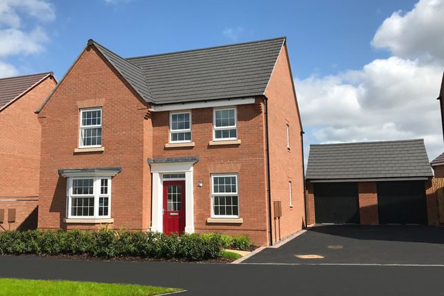 "Thumbnail Detached house for sale in ""Holden"" at The Parade, Oadby, Leicester"