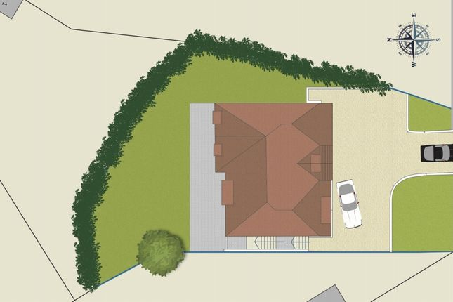 Thumbnail Land for sale in Uplands Close, Sevenoaks