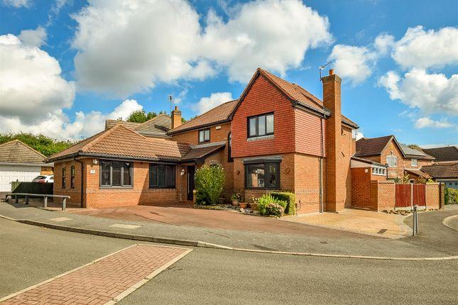 Thumbnail Detached house for sale in Richmond Close, Heatherton Village, Derby