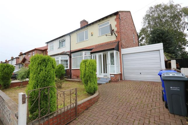 Thumbnail Semi-detached house for sale in Vaughan Road, Chorlton