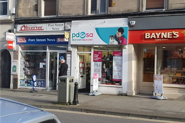 Thumbnail Retail premises for sale in 71, Port Street, Stirling