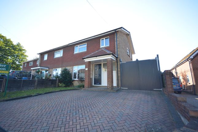 Thumbnail Semi-detached house for sale in York Road, Broadstone