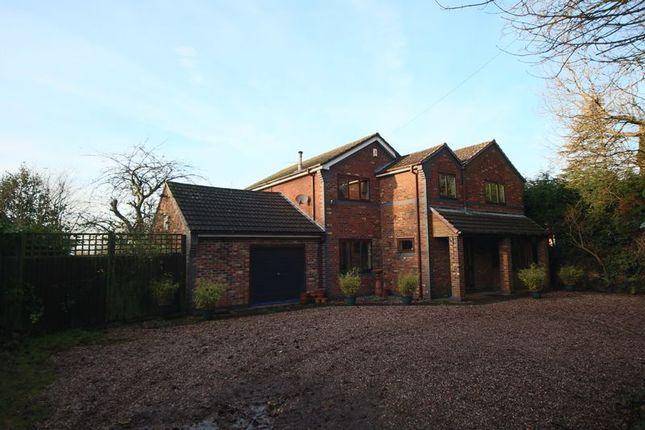 Thumbnail Detached house for sale in Brampton Vale Gardens, The Brampton, Newcastle-Under-Lyme