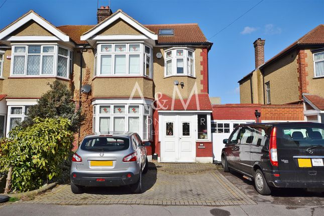 Thumbnail Semi-detached house for sale in Bawdsey Avenue, Ilford