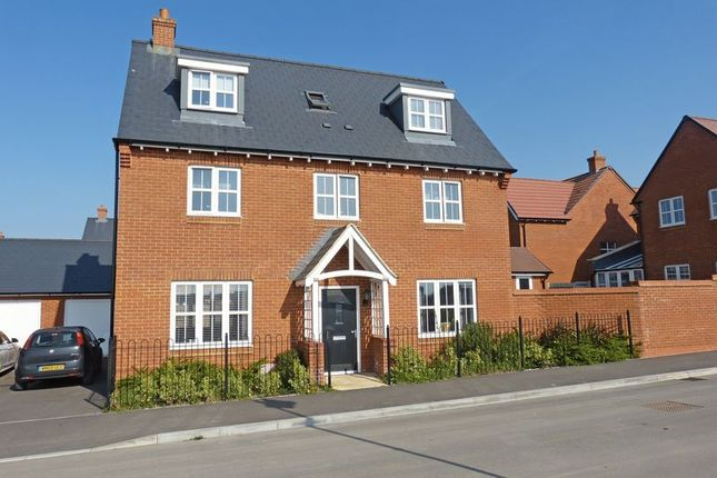 Thumbnail Detached house for sale in Great Amber Way, Amesbury, Salisbury