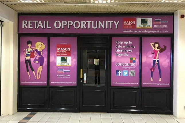Thumbnail Retail premises to let in 1000 - 5000 Sq/Ft Retail Units, Concourse Shopping Centre, Skelmersdale
