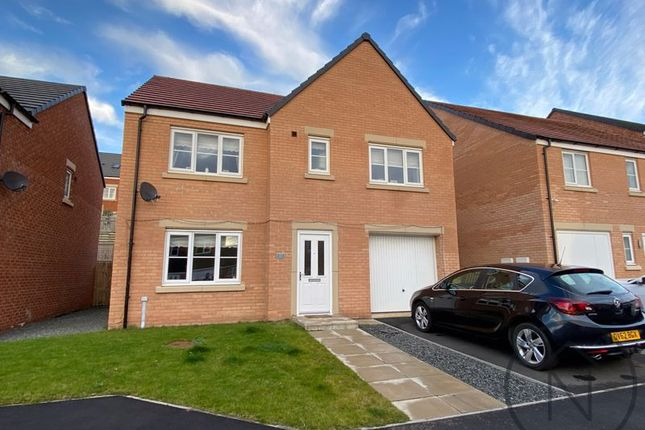 Thumbnail Detached house for sale in Wordsell Way, Middridge Vale, Shildon
