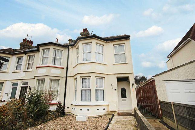 Thumbnail End terrace house for sale in Walton Road, Clacton-On-Sea
