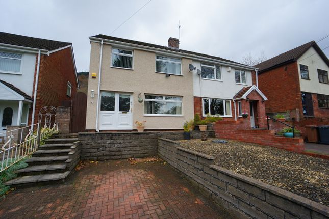 4 bed semi-detached house for sale in Medart Street, Cross Keys, Newport