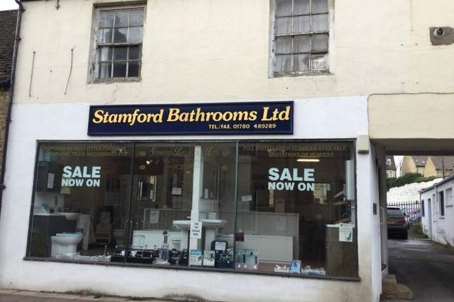 Thumbnail Retail premises for sale in 31 St Peter`S Street, Stamford