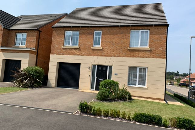 Thumbnail Detached house for sale in Angell Drive, Market Harborough
