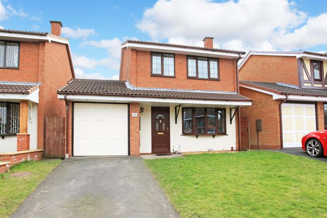 Thumbnail Detached house for sale in Hornet Way, The Rock, Telford