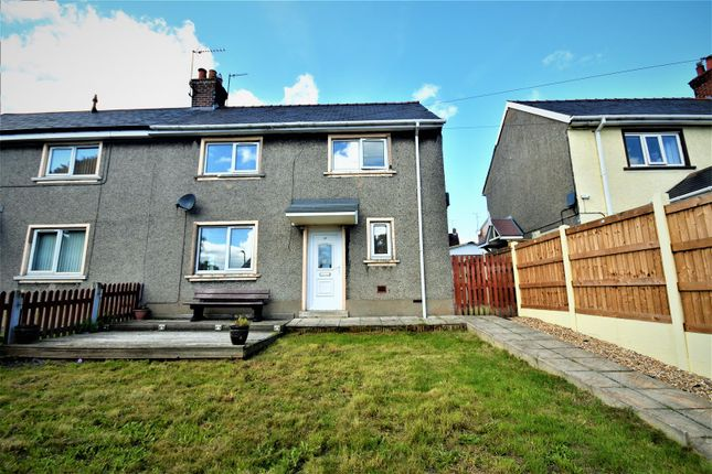 3 bed semi-detached house for sale in Penygraig Road, Brymbo, Wrexham LL11