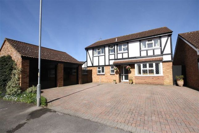 Thumbnail Detached house for sale in Monks Way, Chippenham, Wiltshire