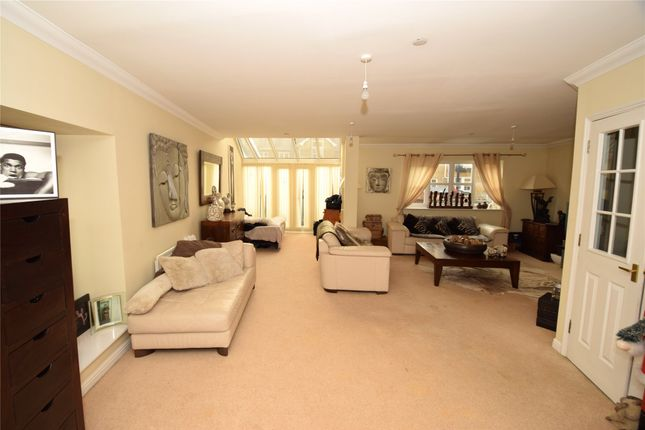 Thumbnail End terrace house for sale in Kingfisher Drive, Greenhithe, Kent