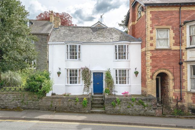 Thumbnail End terrace house for sale in West Street, Builth Wells