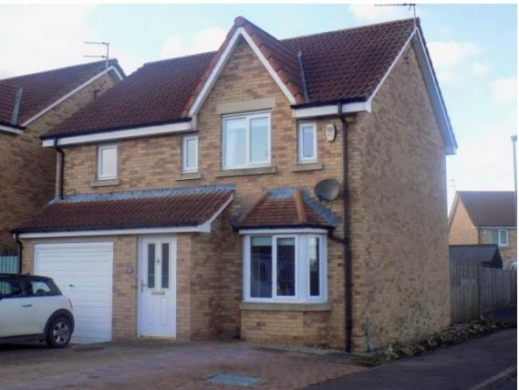 Thumbnail Detached house to rent in Chestnut Way, Widdrington