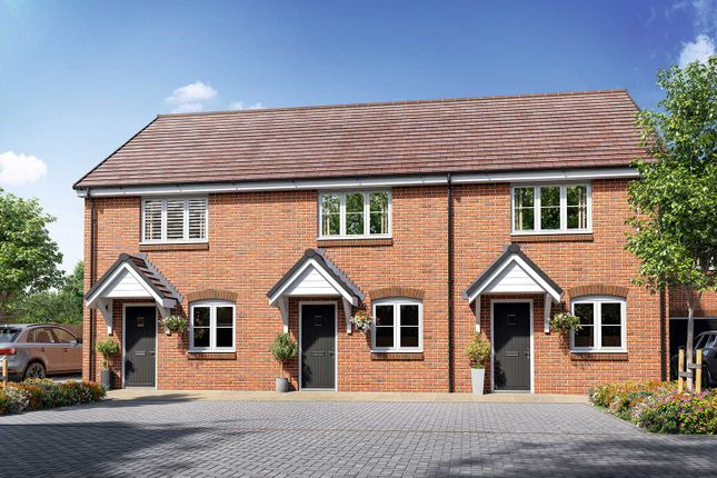 """Thumbnail Terraced house for sale in """"The Hardwick"""" at Off Botley Road, Whiteley"""