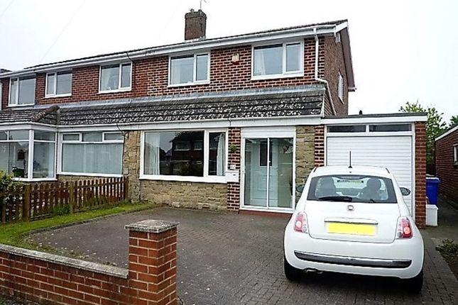 Thumbnail Semi-detached house for sale in Elsdon Avenue, Seaton Delaval, Whitley Bay