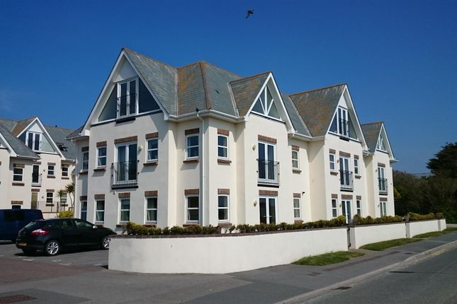 Thumbnail Flat for sale in Pentire Crescent, Newquay