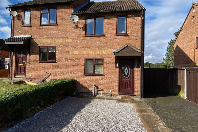 Thumbnail Semi-detached house to rent in Ruskin Way, Daventry, Northants, 4Tt.