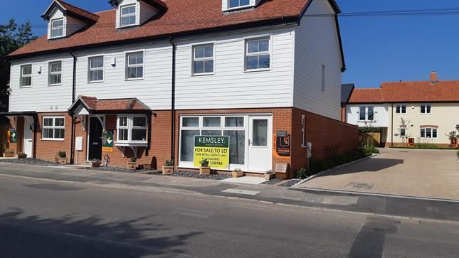 Thumbnail Retail premises for sale in Unit 3, Former Forbourn Motors Site, High Street, Thorpe-Le-Soken, Clacton-On-Sea, Essex