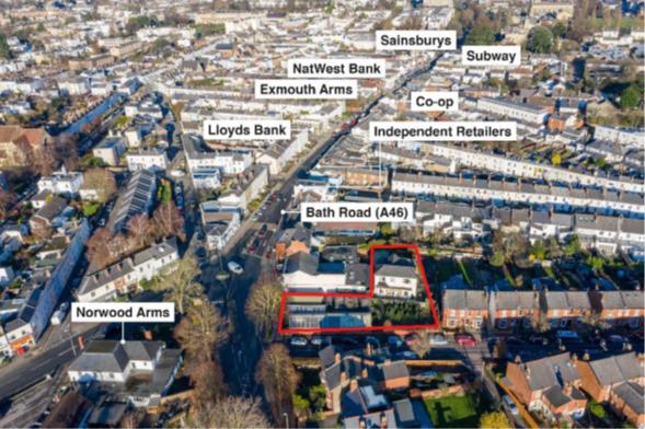 Thumbnail Retail premises to let in 252 Bath Road, Cheltenham