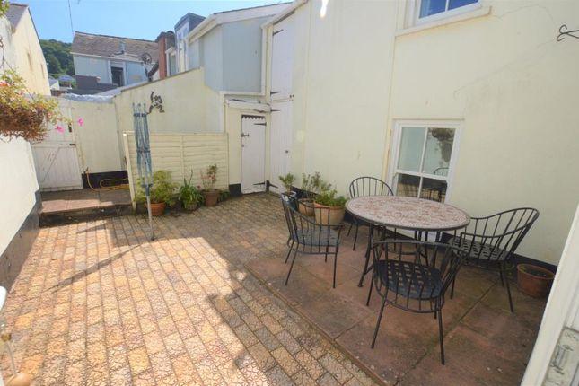 Courtyard of Albion Street, Shaldon, Devon TQ14