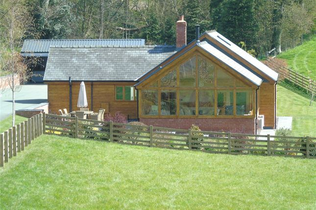 Thumbnail Bungalow for sale in Cyfronydd, Welshpool, Powys
