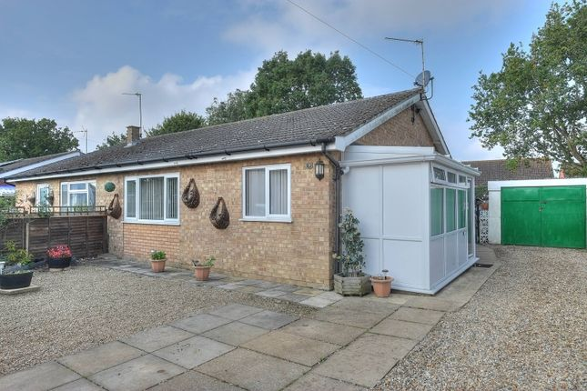Thumbnail Semi-detached bungalow for sale in Lime Tree Close, Mattishall, Dereham