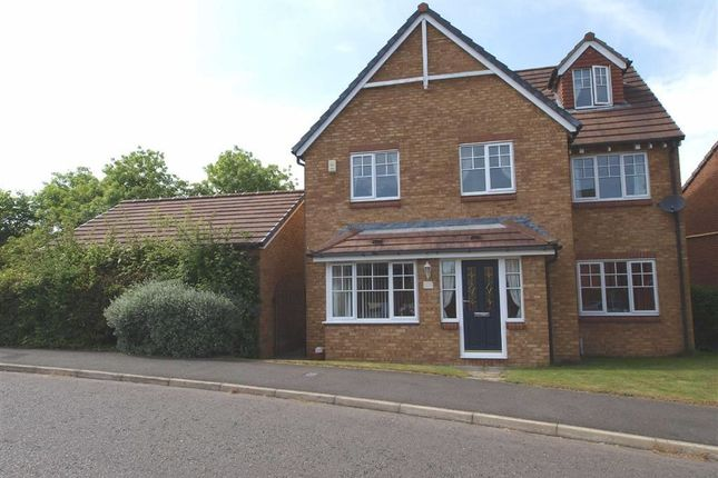Thumbnail Detached house for sale in Glazebury Way, Cramlington