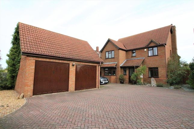 Thumbnail Detached house for sale in High Road, Cotton End, Bedford