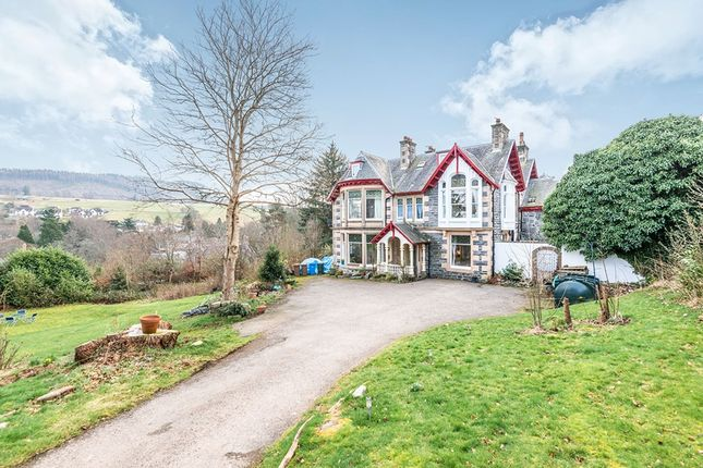 Thumbnail Semi-detached house for sale in Strath View, Strathpeffer, Ross-Shire