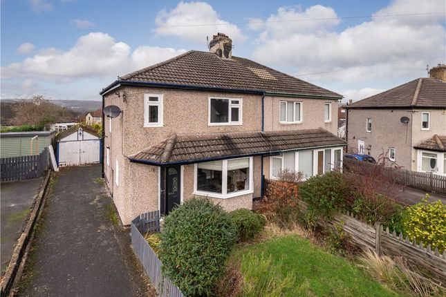 Thumbnail Semi-detached house for sale in Nab Wood Drive, Shipley