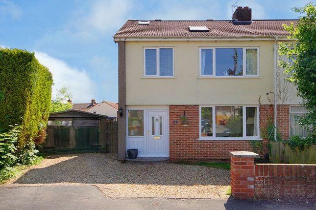 Thumbnail Semi-detached house for sale in 5 Hillside Close, Frampton Cotterell, Bristol
