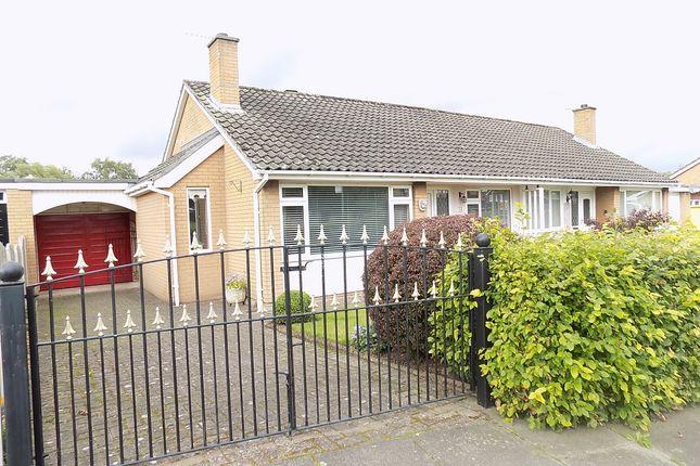 Thumbnail Semi-detached bungalow for sale in Kirkstone Crescent, Carlisle