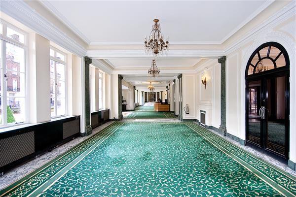 Foyer of Portsea Hall, Hyde Park W2