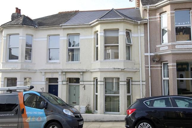 Thumbnail Terraced house for sale in Grafton Road, Mutley, Plymouth