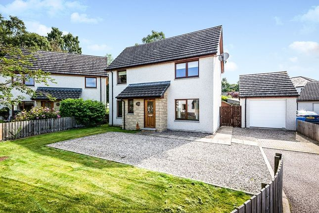 Thumbnail Detached house for sale in Oak Drive, Muir Of Ord, Ross-Shire