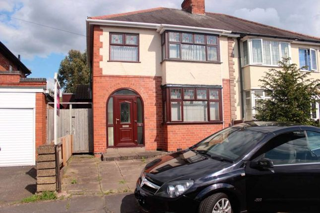 Thumbnail Semi-detached house to rent in Hill Rise, Birstall, Leicester