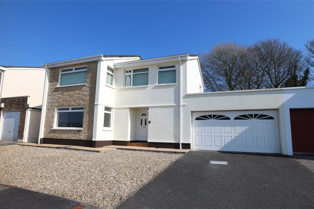 Thumbnail Link-detached house for sale in Tregenna Fields, Camborne