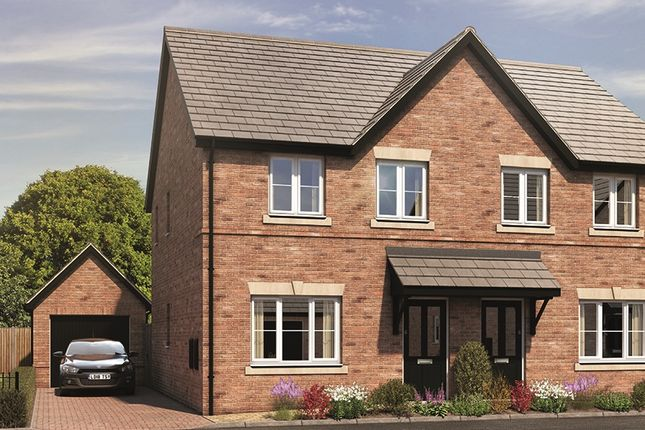 Thumbnail Semi-detached house for sale in The Holmewood, Oakbrook, Chelmsley Lane, Marston Green