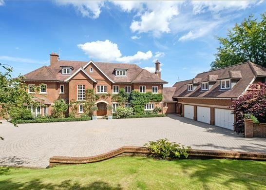 Thumbnail Detached house for sale in Fernden Lane, Haslemere, Surrey
