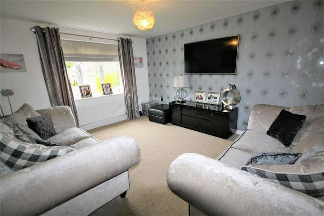 Thumbnail Detached house for sale in Sandringham Way, Newfield, Chester Le Street
