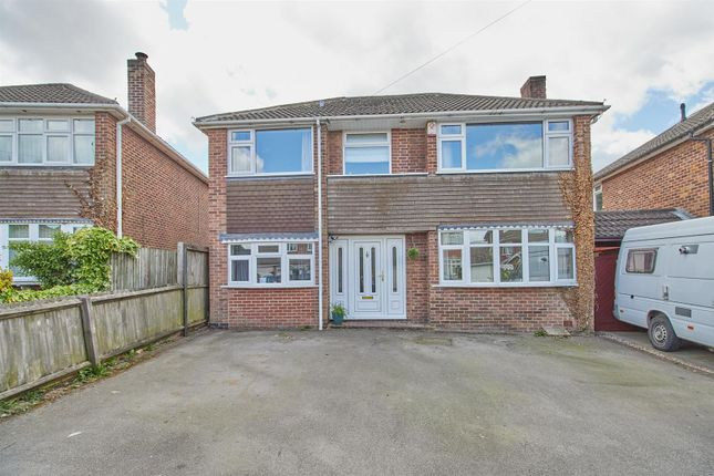 Thumbnail Detached house for sale in Harecroft Crescent, Sapcote, Leicester