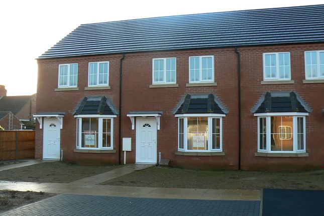 Thumbnail Terraced house to rent in Rookery Park, Lincoln, Lincolnshire.