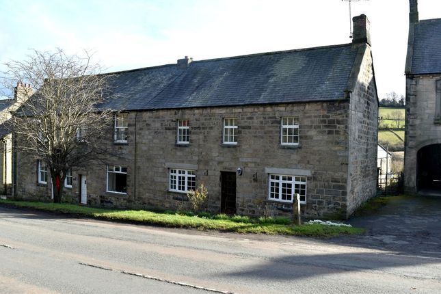 Thumbnail End terrace house for sale in Front Street, Rothbury, Morpeth