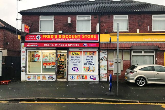 Thumbnail Retail premises for sale in Chapman Street, Gorton, Manchester