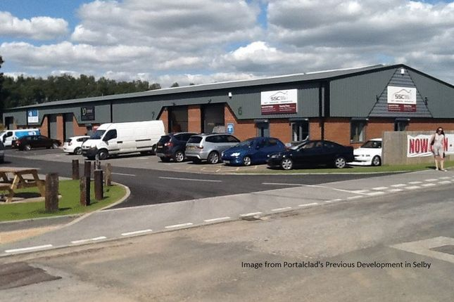 Thumbnail Commercial property to let in New Development, Hopper Hill Road, Eastfield Industrial Estate, Scarborough