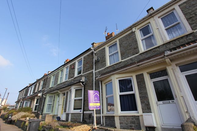 Thumbnail Terraced house to rent in Snowdon Road, Fishponds, Bristol